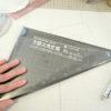 型紙起こしの仕事★ラグランスリーブを製図するのに適した定規はこれ