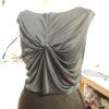 新作ねじりドレープ★半回転でなく1回転ひねります★デザイン決めから縫い始めまで