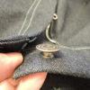デニムのメタルボタン★ジーンズタックボタン★ハンドプレス機での付け方