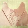シルクシャンタンでミニVortexワンピ★切り絵の様なカッティング★デザインから縫製まで